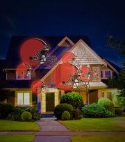 Cleveland Browns Team Pride Light Projector, , hi-res