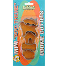 K9 Cakery 5 Pack Cookie Cutters-Mini Dog Theme