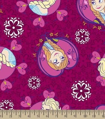 Disney Frozen Girls Soft n Comfy Fabric
