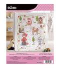 Little Red Riding Hood Crib Cover Stamped Cross Stitch Kit-34\u0022X43\u0022