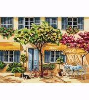 "Paint By Number Kit 12""X15-1/2""-Al Fresco, , hi-res"