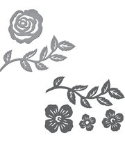Spellbinders® Joyous Celebrations Stamp & Die Set-Floral Set, , hi-res