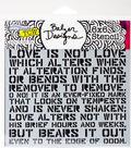 Crafter\u0027s Workshop Julie Fei-Fan Balzer Template 6\u0027\u0027x6\u0027\u0027-Love Sonnet