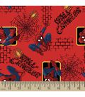 Marvel Comics™ Spider-Man® Flannel Fabric 42\u0022-Wall Crawler