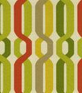 Home Decor 8\u0022x8\u0022 Fabric Swatch-Waverly SNS A New Twist/Seeweed