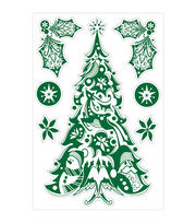 "Wall Decal Large 24""X36""-Christmas Tree, , hi-res"