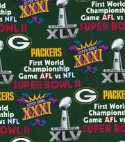 "Green Bay Packers Champion Legacy Cotton Fabric 44"", , hi-res"