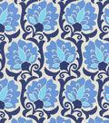 Home Decor 8\u0022x8\u0022 Swatch Fabric-Waverly Playful Prose Indigo