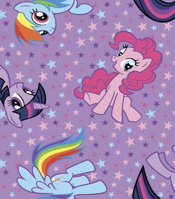 "Hasbro® My Little Pony™ Cotton Fabric 43""-Character"