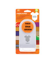 "Fiskars® Thick Materials Shape Punch-Onesie Large 2"", , hi-res"