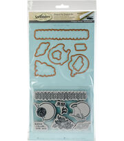 Spellbinders Stamp & Die Set-Yarn, , hi-res