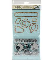 Spellbinders Stamp & Die Set-Yarn, , hi-res