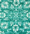 Anti-Pill Fleece Fabric 59\u0022-Joy Dotted Medallion Teal
