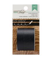 DIY Shop Washi Tape 10yd 2/Pkg-Chalk Vinyl, , hi-res