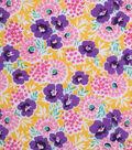 1930\u0027s Cotton Fabric 43\u0022-Floral Garden Yellow