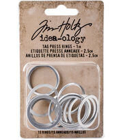 Tim Holtz® Idea-ology® 15 Pack 1'' Tag Press Rings, , hi-res