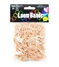 Midwest Design Imports™ 500pcs Loom Bands Charm-Tan