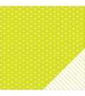 American Crafts Basics Star Double-Sided Cardstock