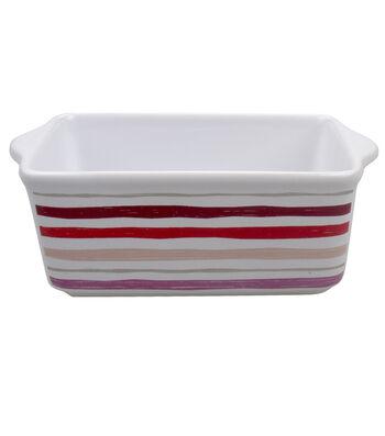 Valentine's Day Mini Loaf Pan-Stripes