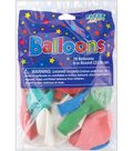 Balloons 9\u0022 Round-20PK Assorted Colors