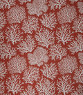 Eaton Square Upholstery Fabric 54\u0022-Coral Reef / Coral