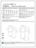 Mccall Pattern V8824 Xsm (4-6) -Vogue Pattern