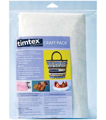 "Timtex Interfacing Craft Pack-15""x18"" 1/pkg"