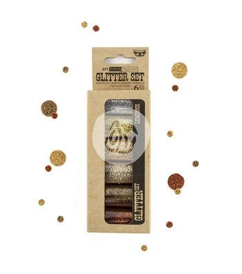Art Extravagance Glitter Set 6/Pkg-Luminous