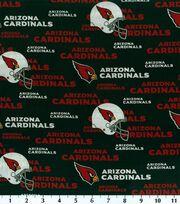 Arizona Cardinals Cotton Fabric 58''-Logo, , hi-res
