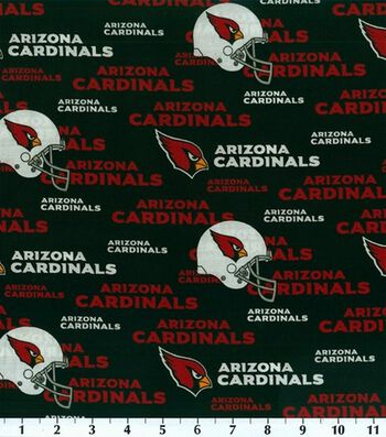 "Arizona Cardinals Cotton Fabric 58""-Logo"