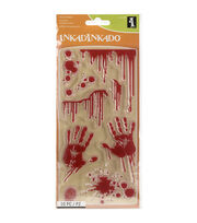 Inkadinkado® Halloween Clear Stamps-Bloody Scene, , hi-res