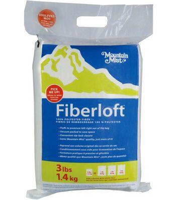 Mountain Mist Fiberloft Polyester Stuffing-3lb