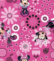 "Disney® Minnie Mouse Organza Fabric 56""-Allover, , hi-res"
