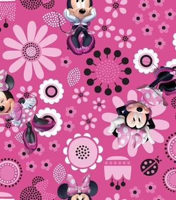 "Disney® Minnie Mouse Organza Fabric 56""-Allover"