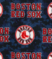 "Boston Red Sox Fleece Fabric 58""-Digital, , hi-res"
