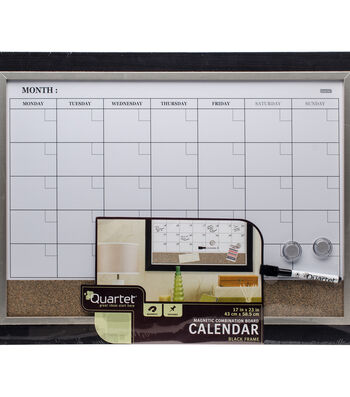 "Magnetic Combination Calendar Board 17""X23""-Two-Tone"