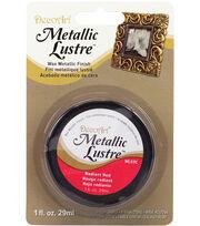 DecoArt® 1 oz. Lustre Wax Metallic Finish, , hi-res