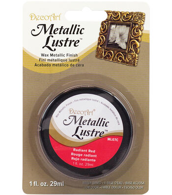DecoArt® 1 oz. Lustre Wax Metallic Finish