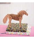 DCWV DIY Decor 3D Small Unicorn