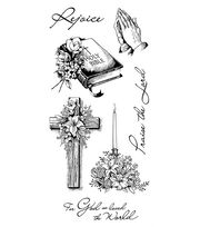 Inkadinkado Clear Stamps-Spiritual Sketches, , hi-res