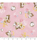 Disney Princess Knit Fabric 58\u0022-Belle & Friends