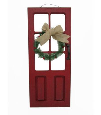Maker's Holiday Christmas Door Wall Plaque