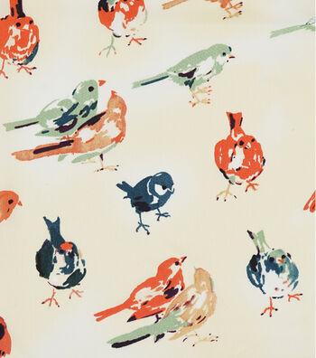 "Silky Prints Shine Fabric 57""-Birds"