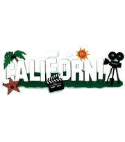Jolee's Boutique Title Wave Stickers-California, , hi-res