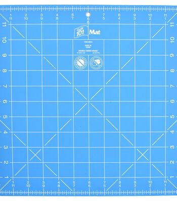 """Dritz 12""""x12"""" Quilt 101 Rotary Cutting Mat"""