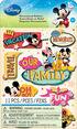 Disney Mickey Dimensional Sticker