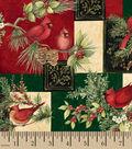 Susan Winget Cotton Print Fabric 43\u0027\u0027-Elegant Traditions
