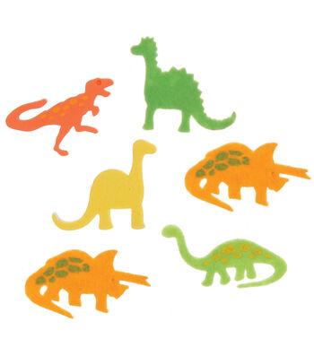Foam Stickers 84/Pkg-Dinosaurs