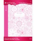 American Girl Crafts Doodle Design Sketchbook Floral