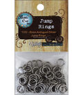 Vintage Collection Jump Rings 8mm 100/Pk-Silver